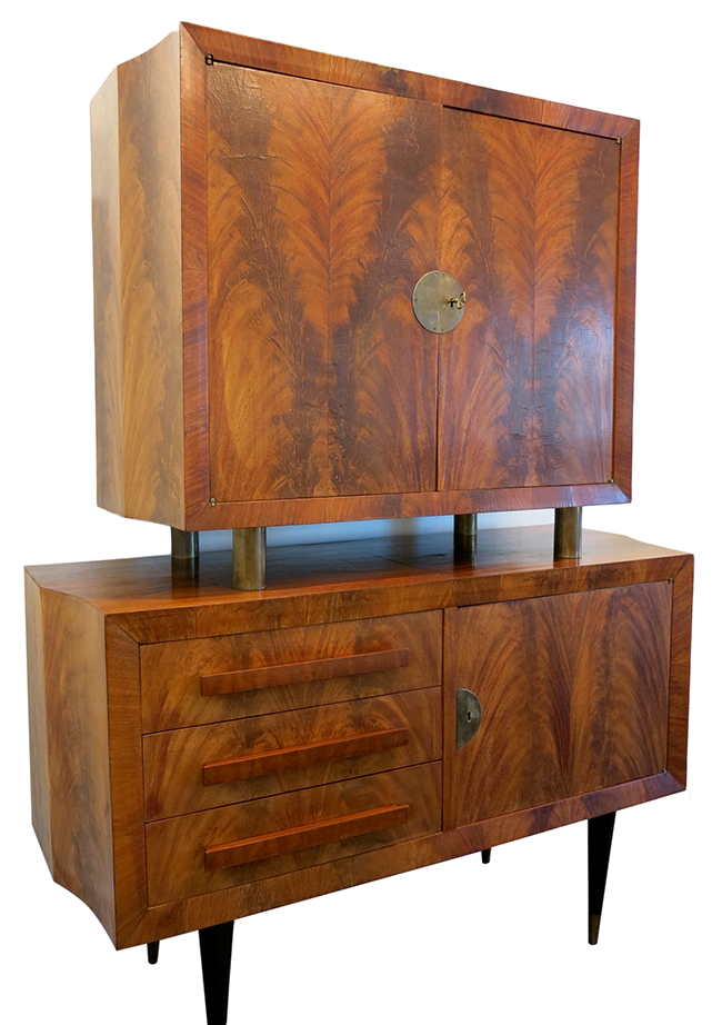 Flamed Mahogany bar cabinet.jpg