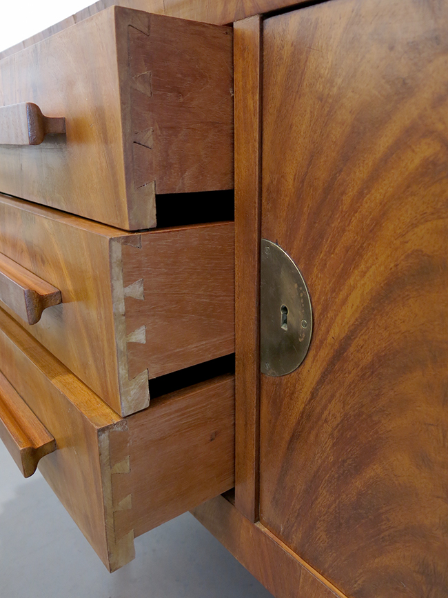 Flamed mahogany bar drawers.jpg