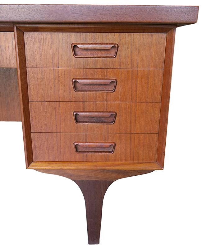Danish desk in teak - mid century modern Atlanta.jpg