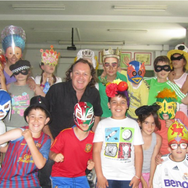 Creating characters using masks in Jerez.