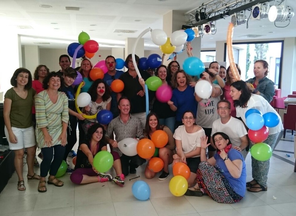 Teaching creativity to teachers at a weekend course in Huevla - oganised by the CEP Huelva-Isla Cristina.