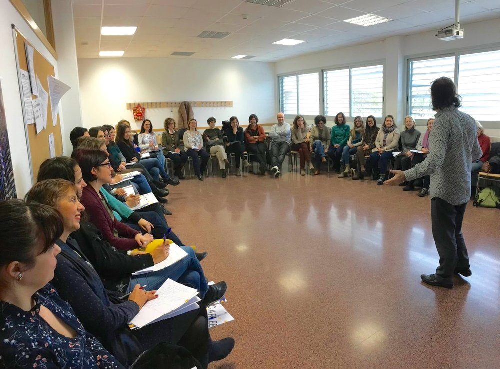 Storytelling workshop for English secondary teachers at CARLEE, Zaragoza