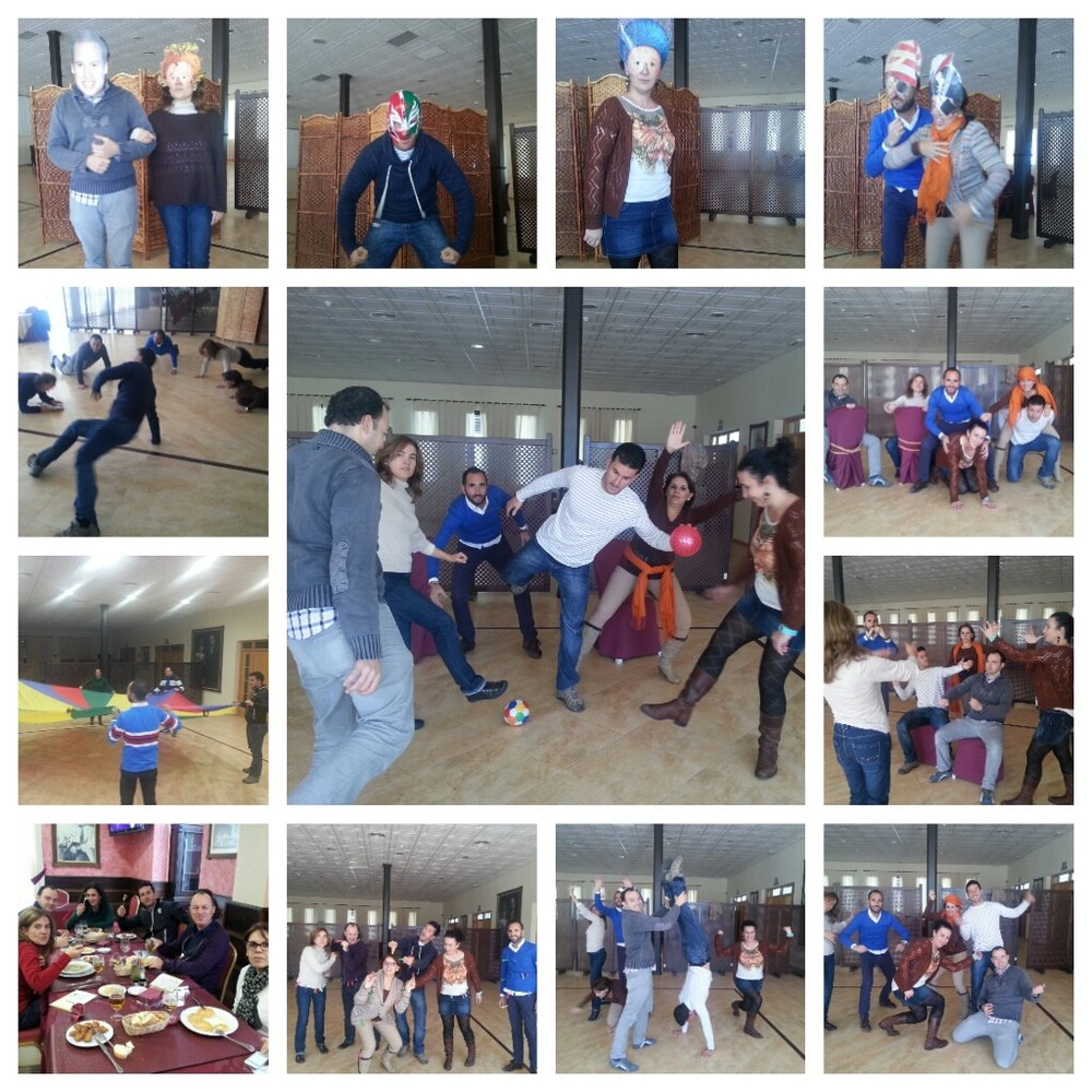 Workshop on devised theatre for state school teachers