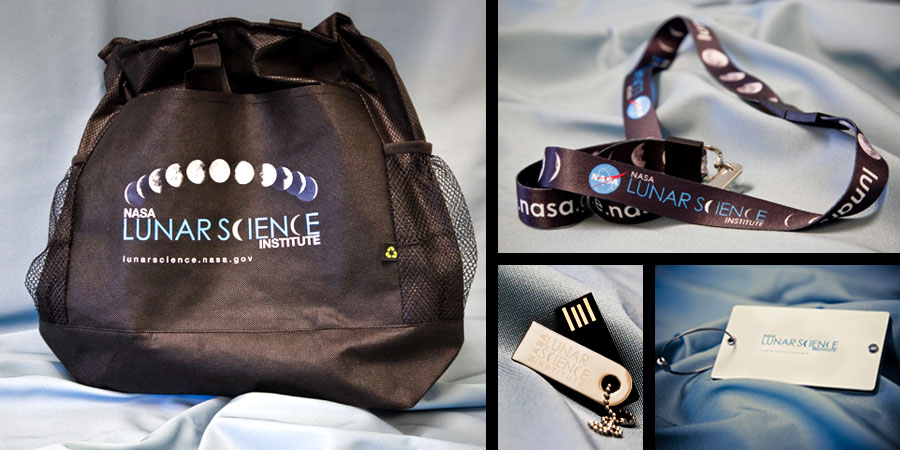 Swags designed for NASA Lunar Science Conference