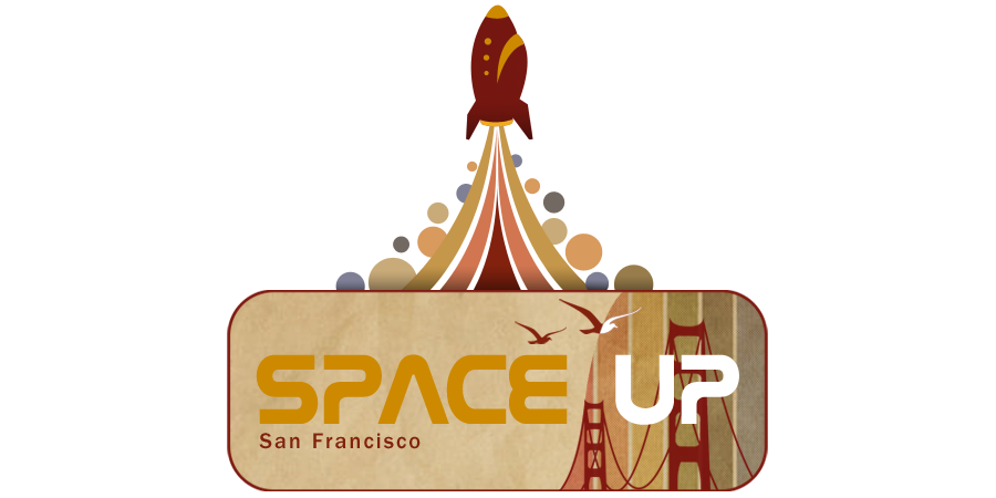 SpaceUp San Francisco logo design