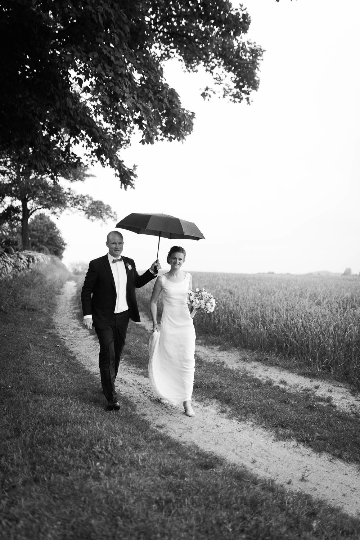 Paraply bryllup Læsø