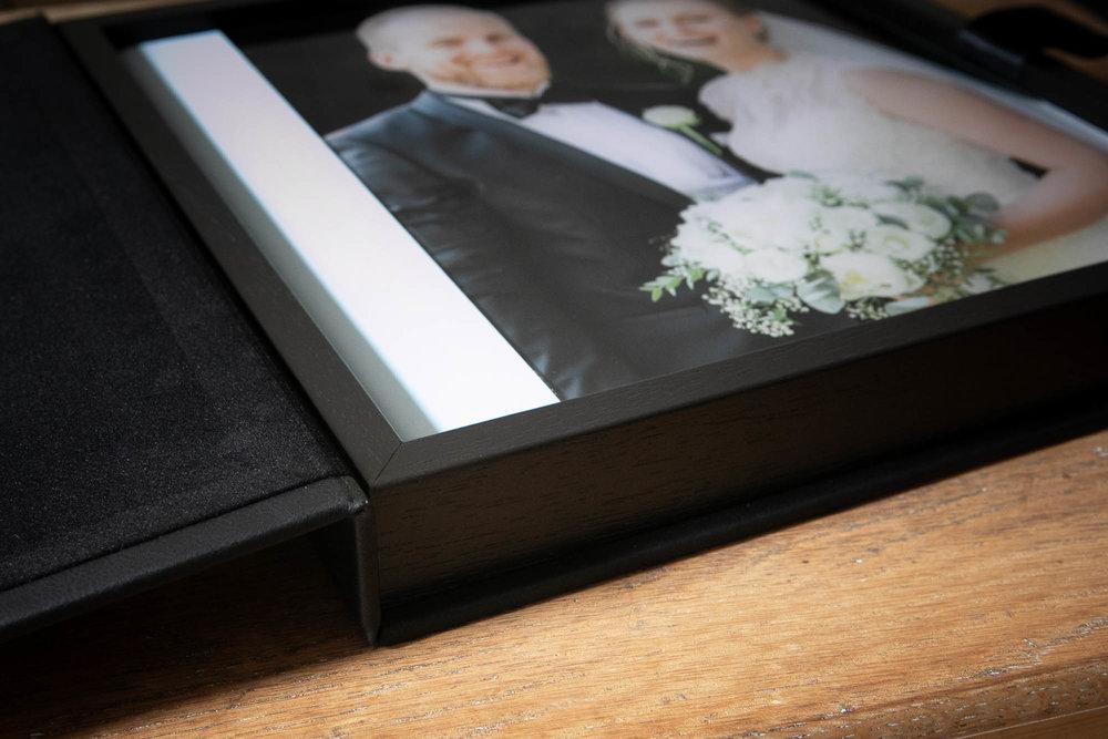 Gaveæske bryllupsalbum