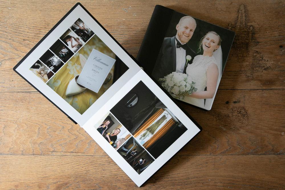 fotoalbum bryllup minialbum