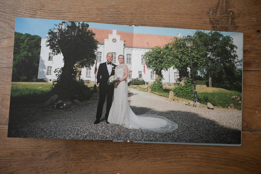 fotoalbum bryllup brud