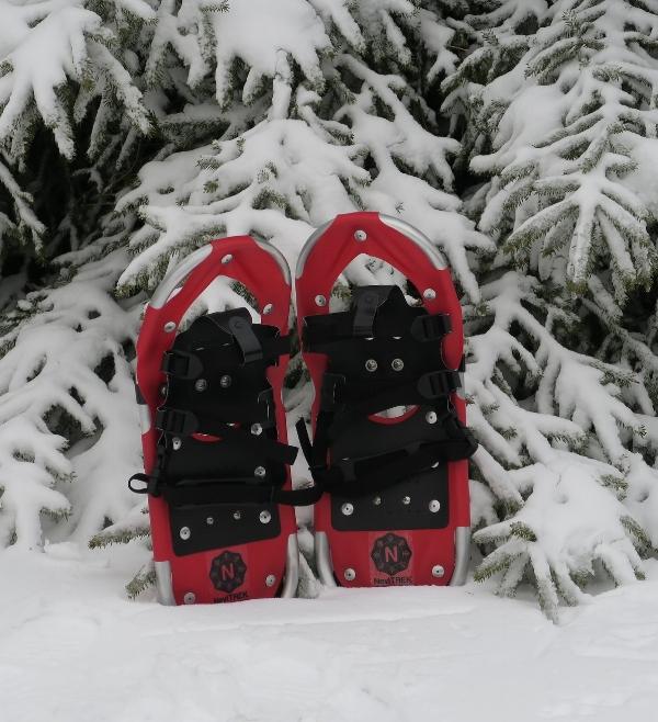 Red NeviTREK Snowshoes