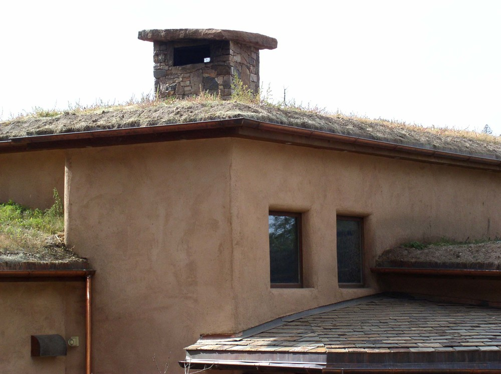 Stone chimney cap weighs 800 pounds!