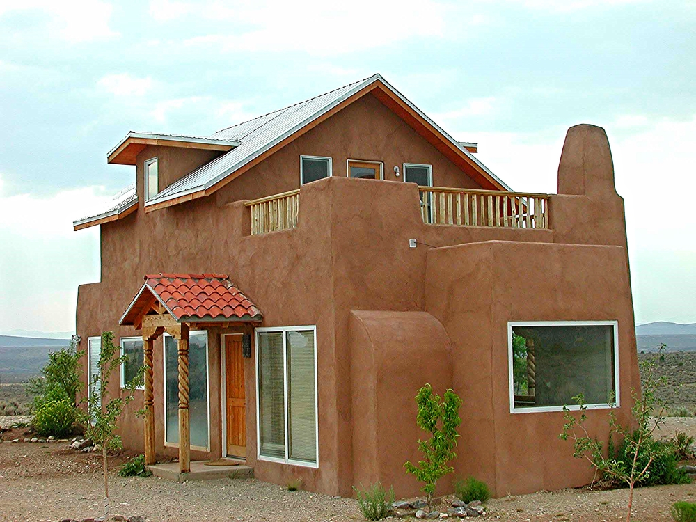 Strawbale homes sunwood design building for Straw home designs