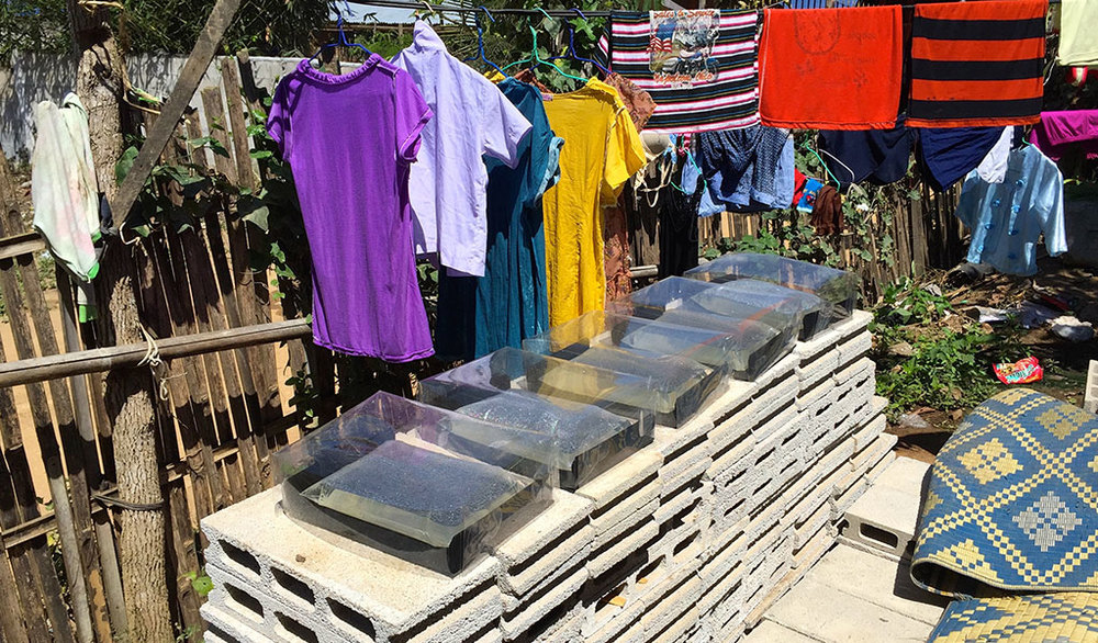 SODIS X requires space for sufficient exposure to sunlight.Users easily found space for the product, because they traditionally dry their clothing in sunlight.