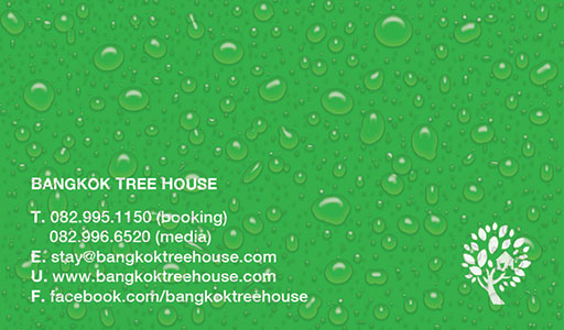 Bangkok Tree House name cards