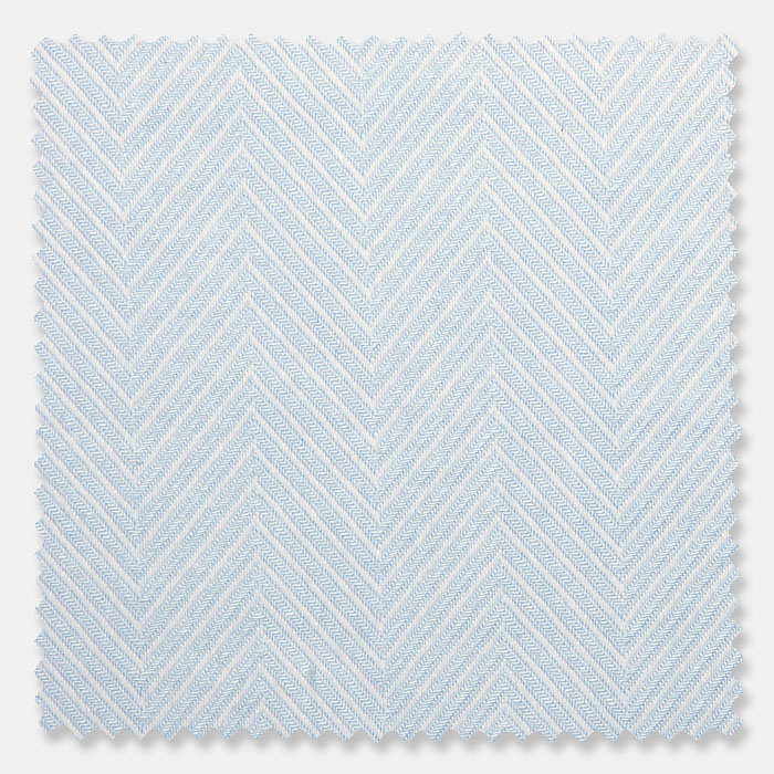 Zeus Chevron 80 x 80 Pima Cotton   F19BHO-L