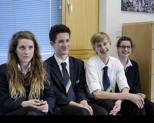 Ashley, Josh, Oliver y Lily
