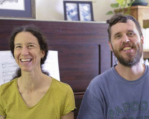 Jess y Erik Haugsjaa