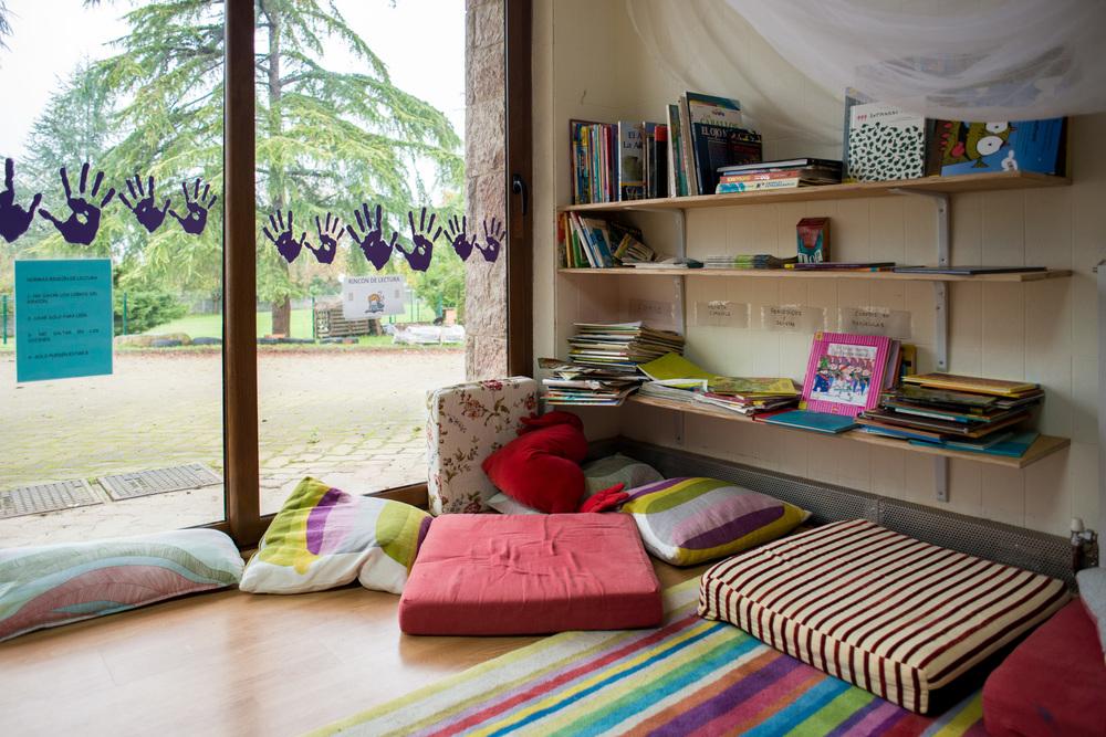 Bural: ambientes de aprendizaje cuidados que invitan a la serenidad y la concentración.