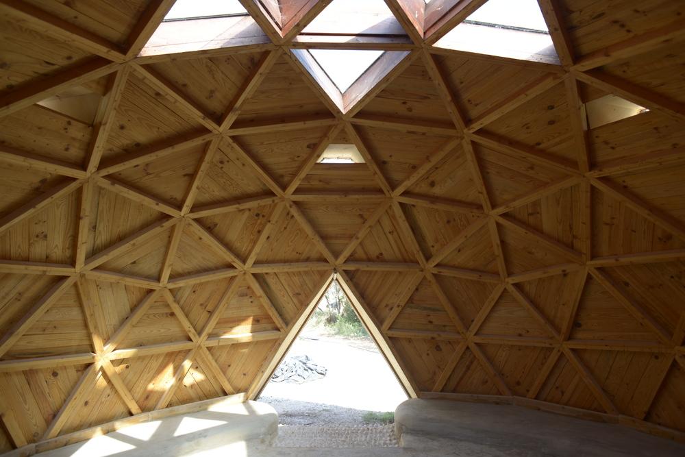 Domo construido por los chicos en Ojo de Agua | Ambiente educativo, Orba (Alicante).