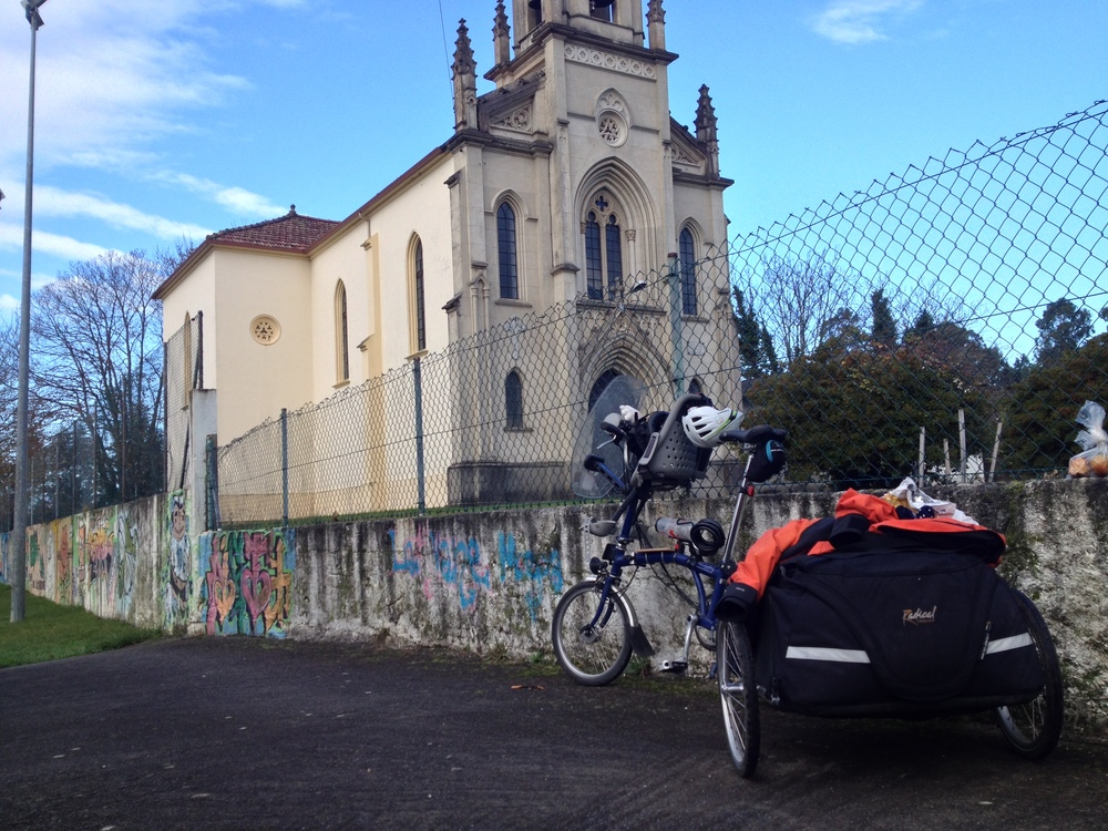Una parada para descansar de camino a Oleiros...