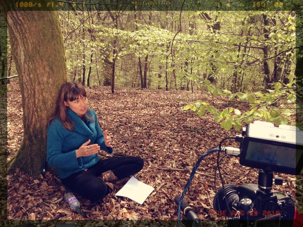 En un bosque de Gales, con Jay Griffiths