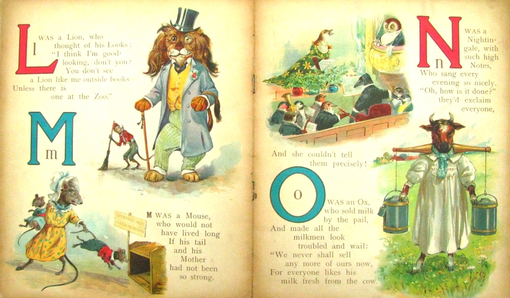 The Animals Comic ABC;   1900; Ernest Nister