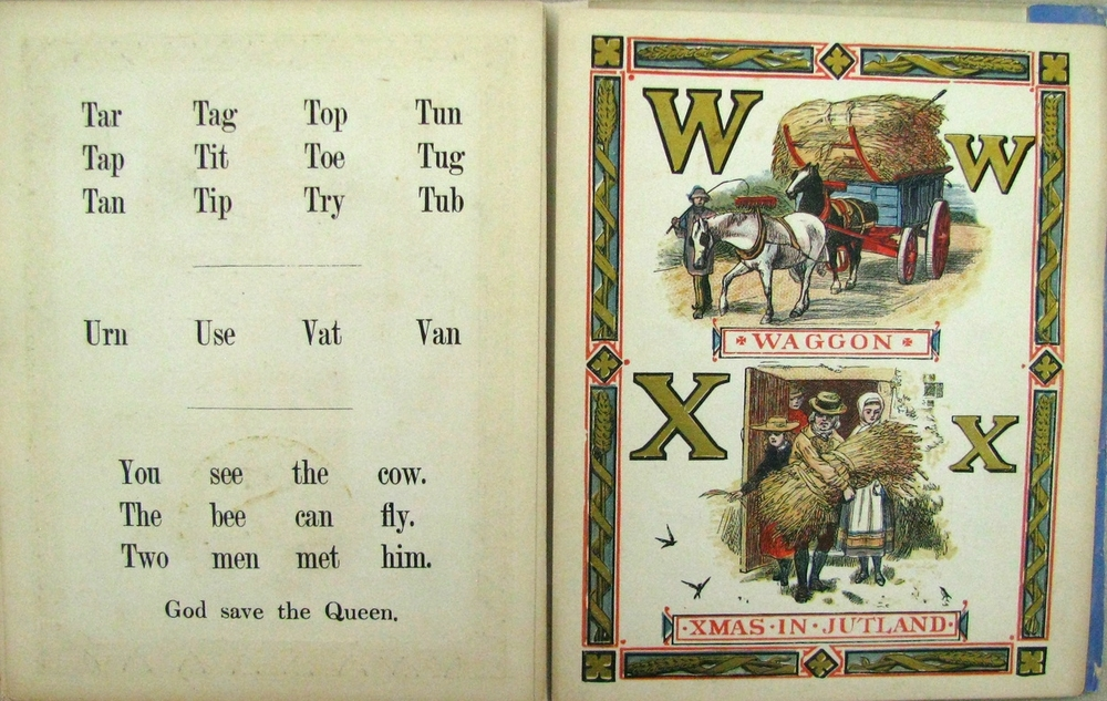 THE ALEXANDRA ALPHABET  ; 1868