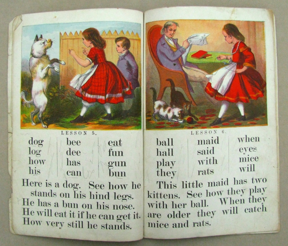 LITTLE CHILD'S HOME ABC BOOK  ; 1883; American