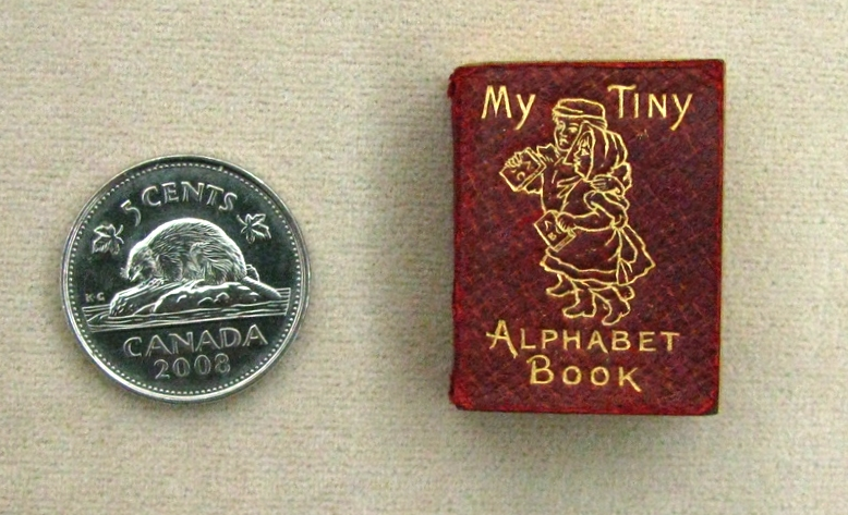 MY TINY ALPHABET BOOK