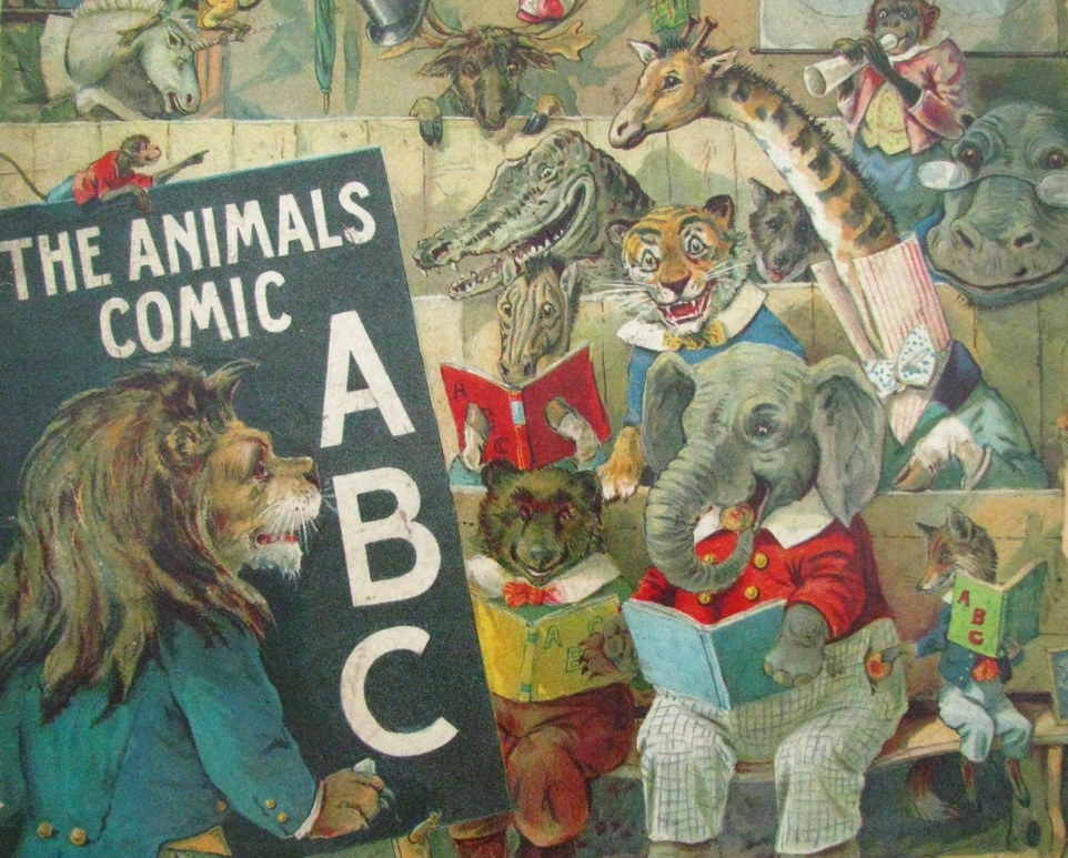 The Animals Comic ABC ; Ernest Nister; 1900