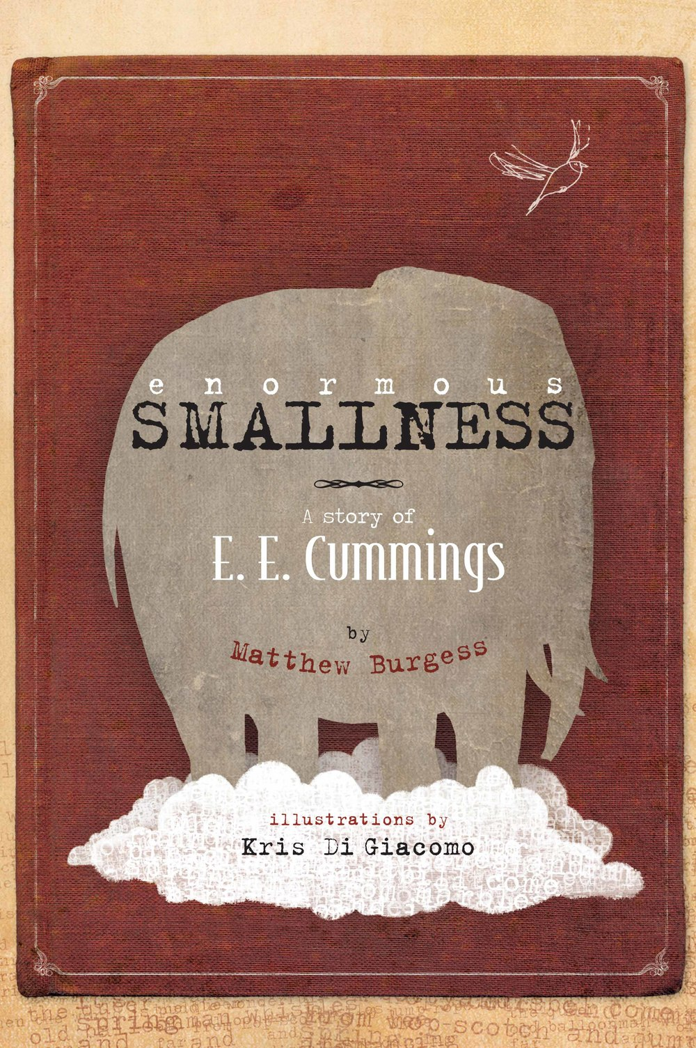enormous SMALLNESS, by Matthew Burgess, illustration by Kris Di Giacomo