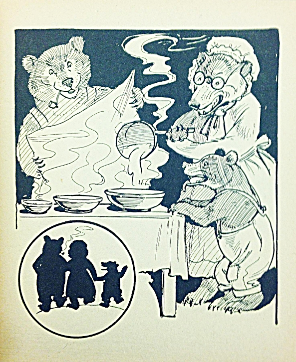 Interior page from   The Story of the Three Little Bears and Little Goldilocks