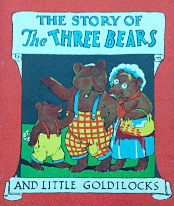 The Story of the Three Little Bears and Little Goldilocks , verses by Nancy Knight, illustration by H.E.M. Sellen, Toronto, Heaton Publishing Company, 192?