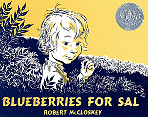 Blueberries for Sal,  Robert McCloskey, New York, Viking Press, 1948
