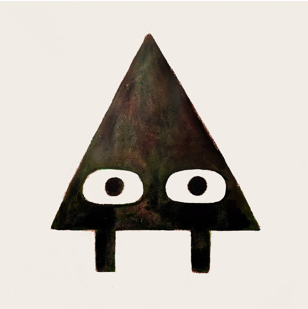 Cover of Triangle, by Mac Barnett, illustration by Jon Klassen