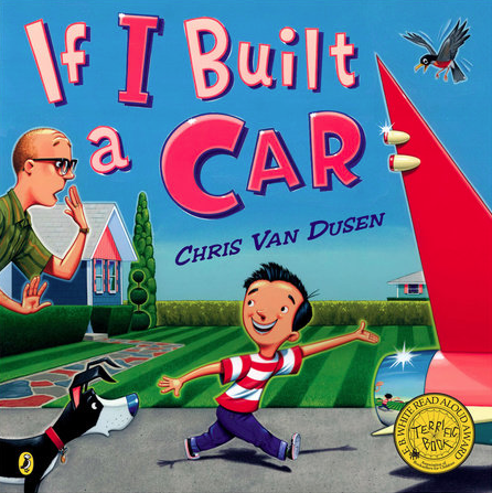 Cover from If I Built a Car, Chris Van Dusen