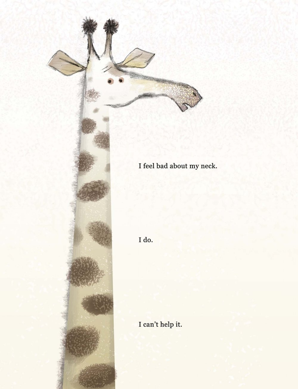 Preliminary color art by Lane Smith for   Giraffe Problems,   by Jory John