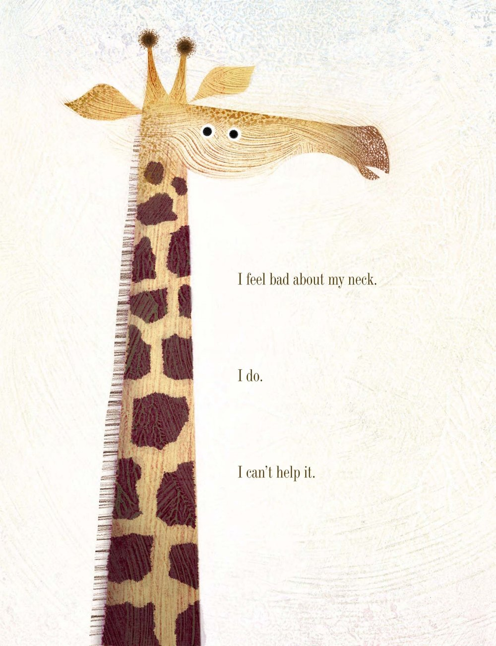 Final art by Lane Smith for     Giraffe Problems,   by Jory John