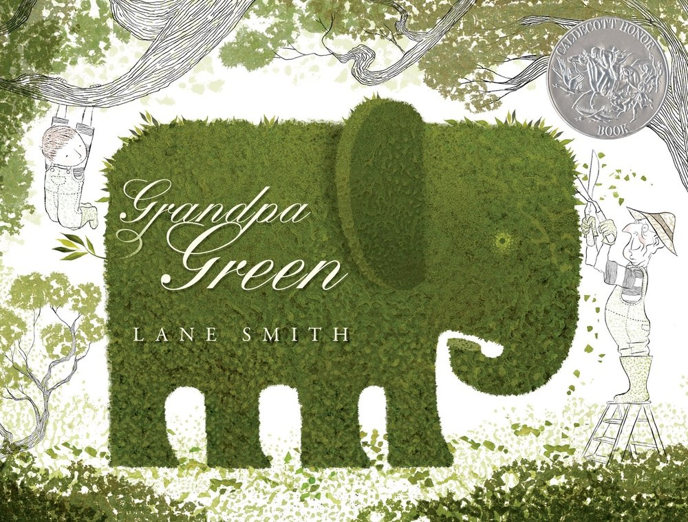 Cover of    Grandpa Green  ,  Lane Smith