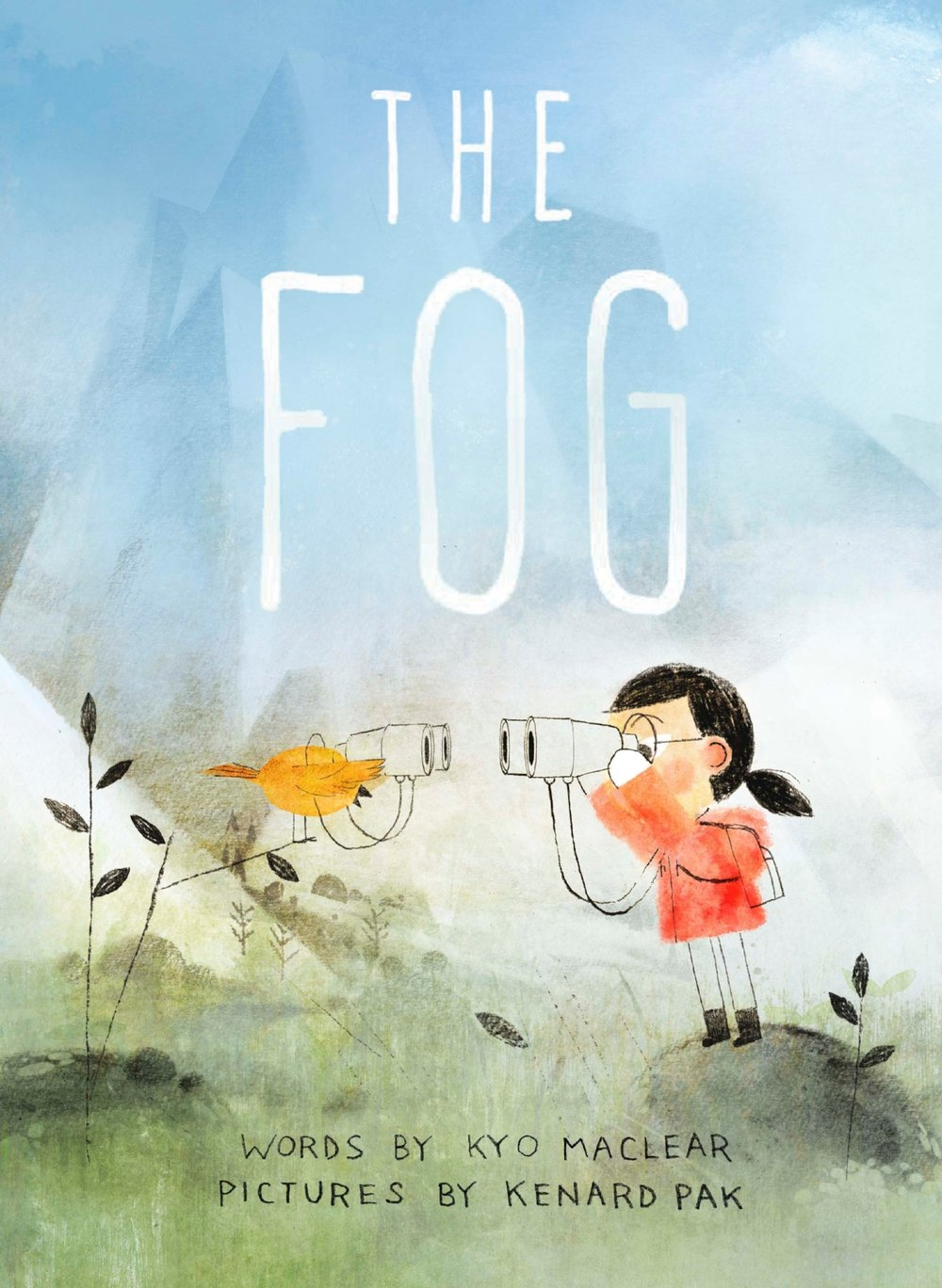 Cover of    The Fog   , by  Kyo Maclear , illustration by Kenard Pak