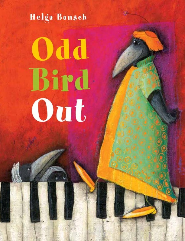 Cover from    Odd Bird Out   , Helga Bansch