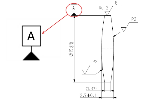 Datum Surface In Optical Drawings — Optics for Hire