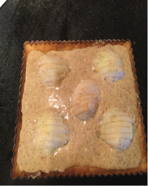 Par-baked crust + fresh pears & almond cream.png