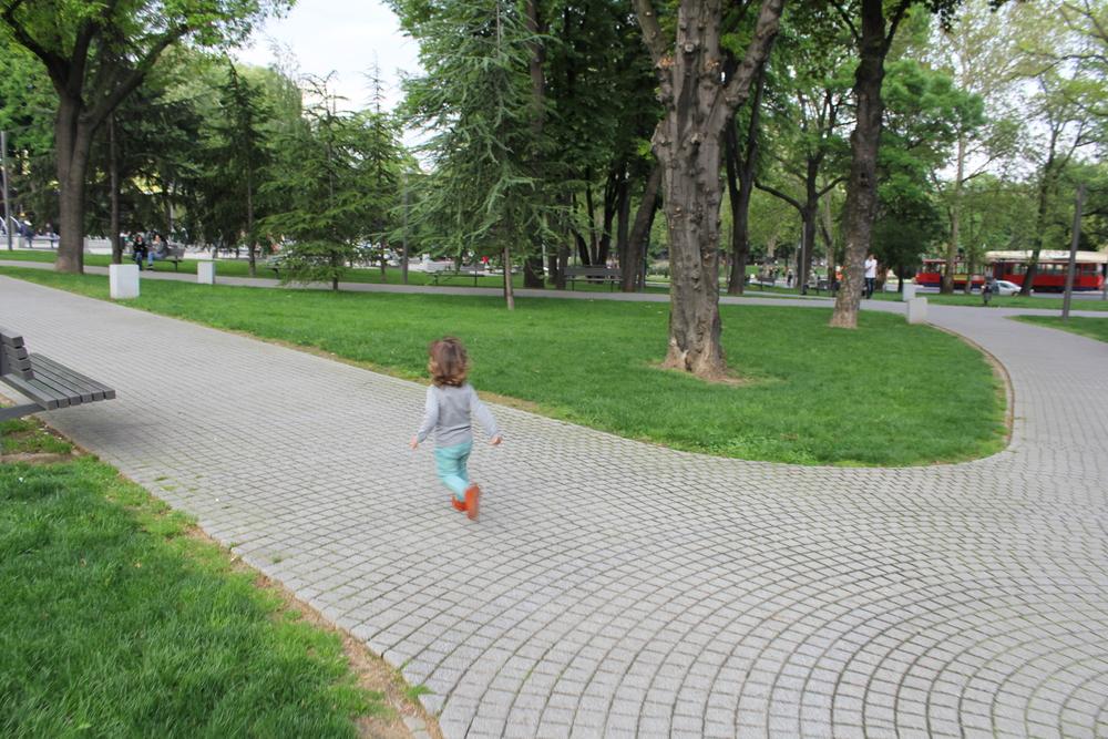 Naš mali trkač :-)