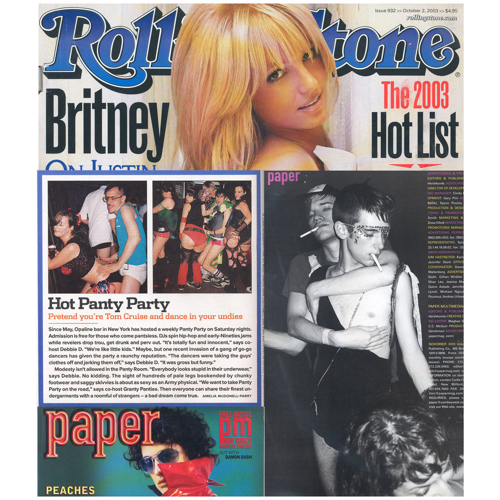 Rolling Stone Magazine & Paper (Print),  The 2003 Hot List, Panty Party