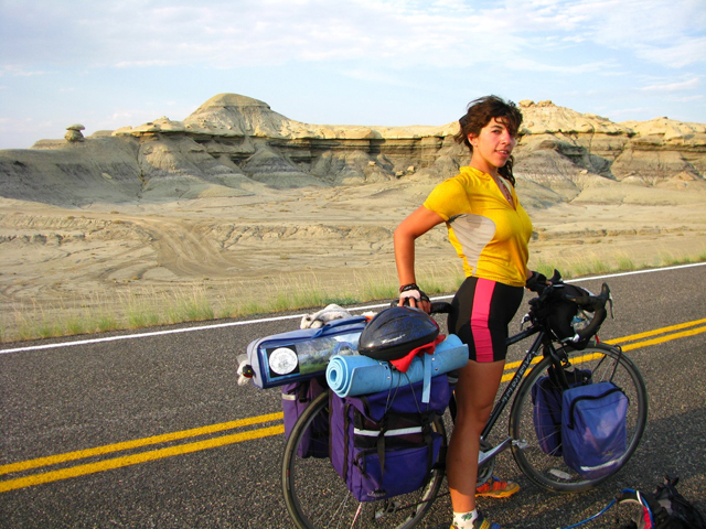 2008.  Girls Gone Wildlife  bike trip across the USA