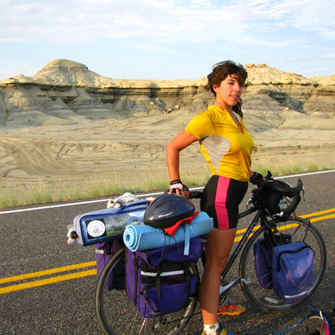 Girls Gone Wildlife , 2008. Bike trip across the USA with Karin K. Chao raising money for wildlife.