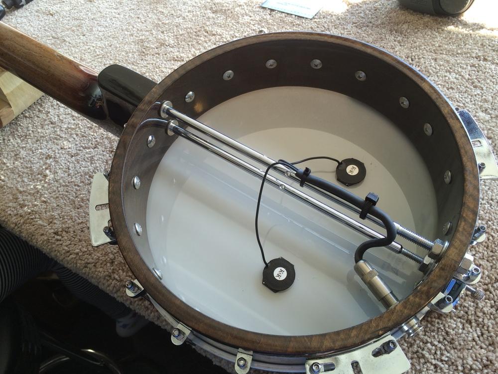 K&K Banjo Twin Install