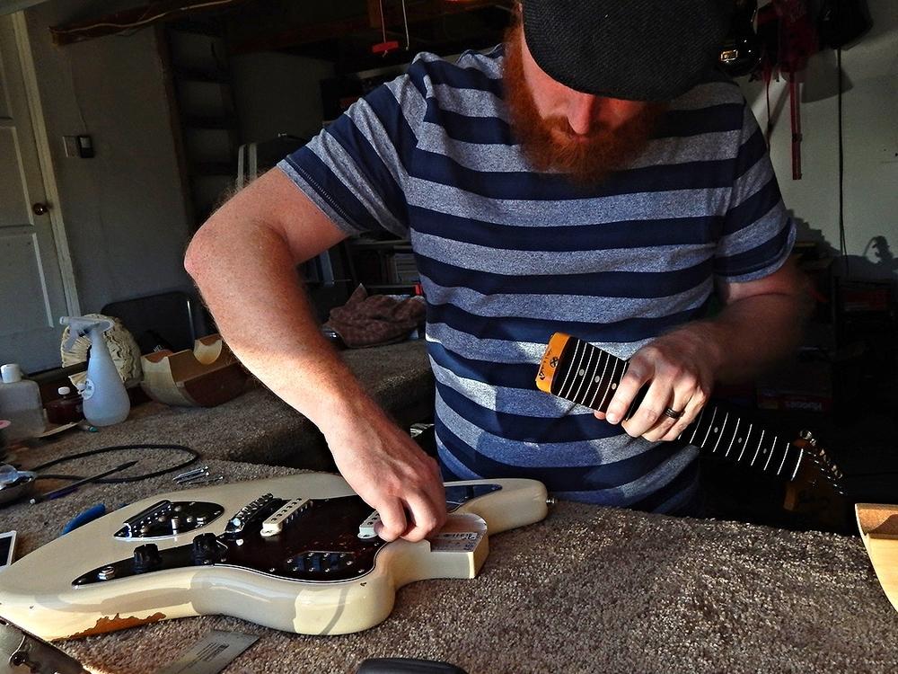 62' Fender Jaguar re-issue