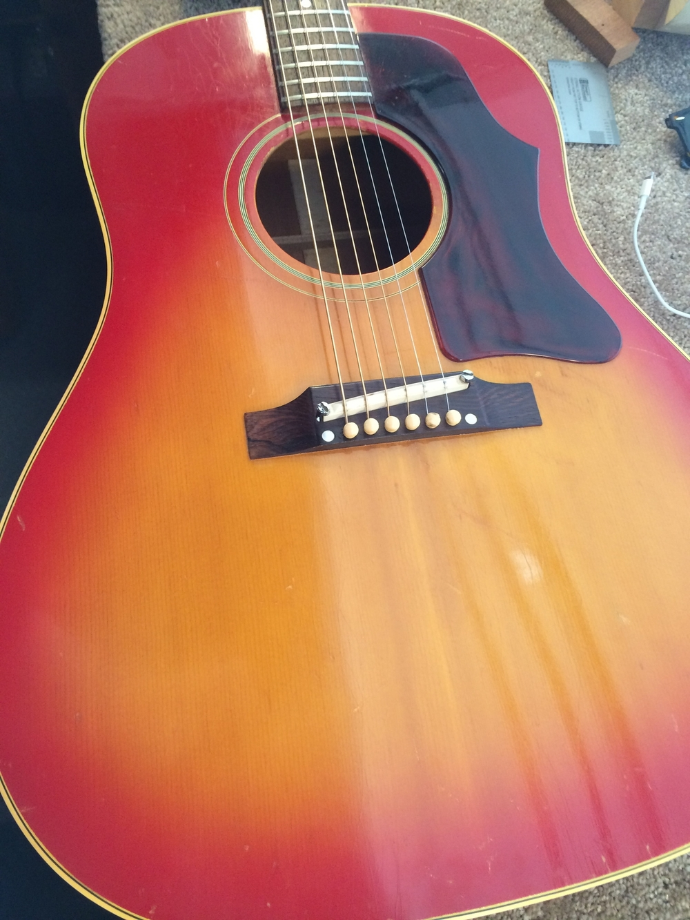 Foxy 1961 J-45...never heard a Gibson acoustic sound so sweet!